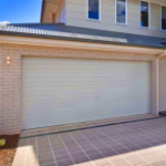 White Roller Door of House - Aus-Secure