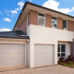 Garage Doors on Two Storey Home - Aus-Secure