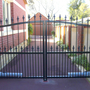 Hinged Steel Gate - Aus-Secure