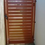 Wooden Pedestrian Gate - Aus-Secure