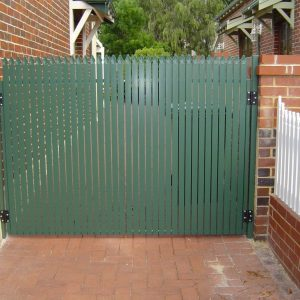 Green Picket Fence - Aus-Secure