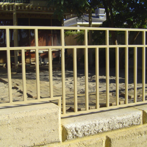 Slatted Grille - Aus-Secure