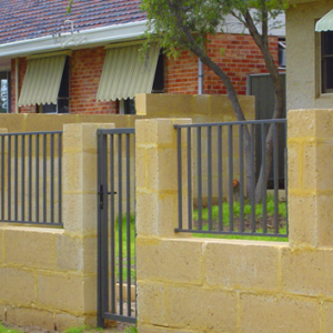 Grille Security Fence Residential - Aus-Secure