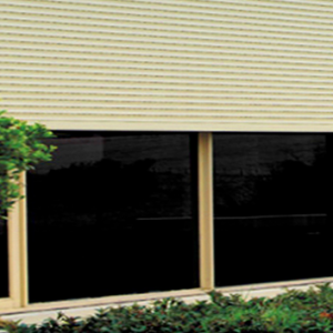 Roller Shutters on Window Plant - Aus-Secure