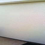 White Garage Roller Shutters - Aus-Secure