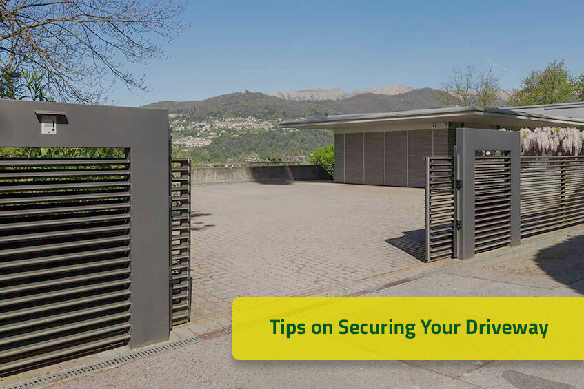 Tips on Securing Your Driveway